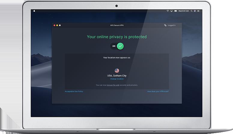 avg secure vpn for mac