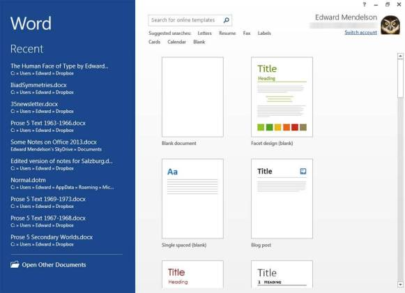 Microsoft-word-for-recent-files