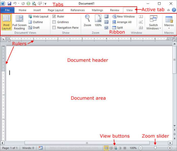 microsoft-word-pointing-all-the-functions