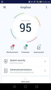 King Root App Security Index