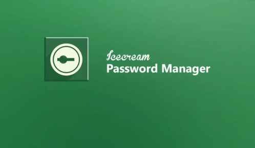 Icecream Password Manager Software