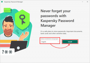 Kaspersky Password Manager INSTALL