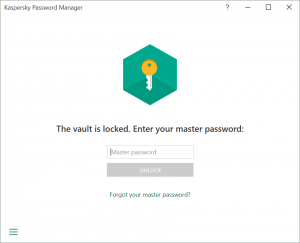 KPM Master Password