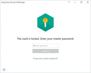 KPM Master Password