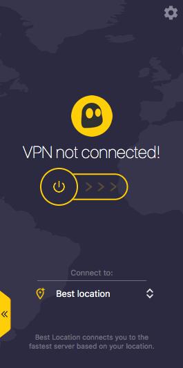 VPN not connected in CyberGhost VPN Filehippo