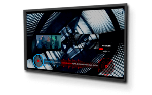 beautiful graphics on screen with built-in videoskins