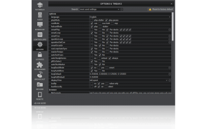 configurations window in Virtual DJ 2020