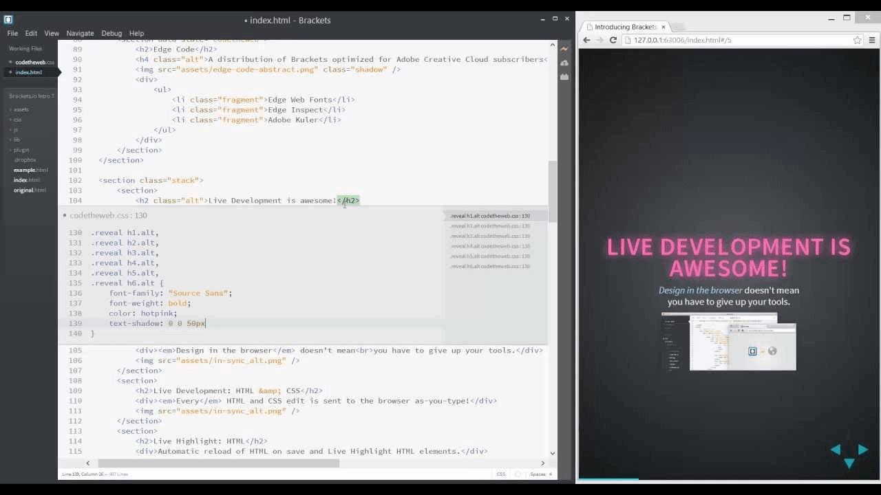 live development