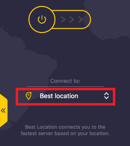 CyberGhost VPN Filehippo select country
