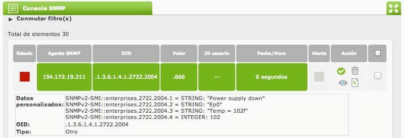 trap_monitoring in Pandora FMS