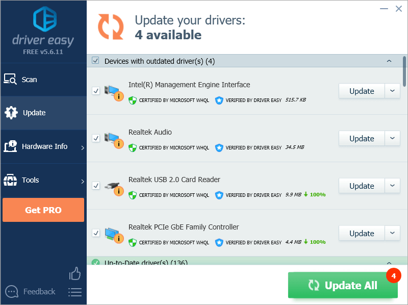 Driver Easy Filehippo update hardware driver