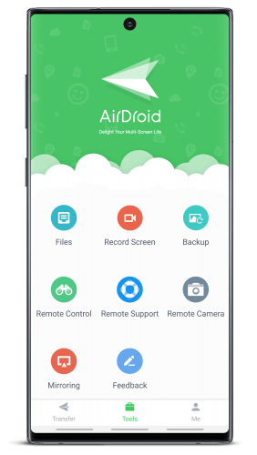AirDroid provide facility