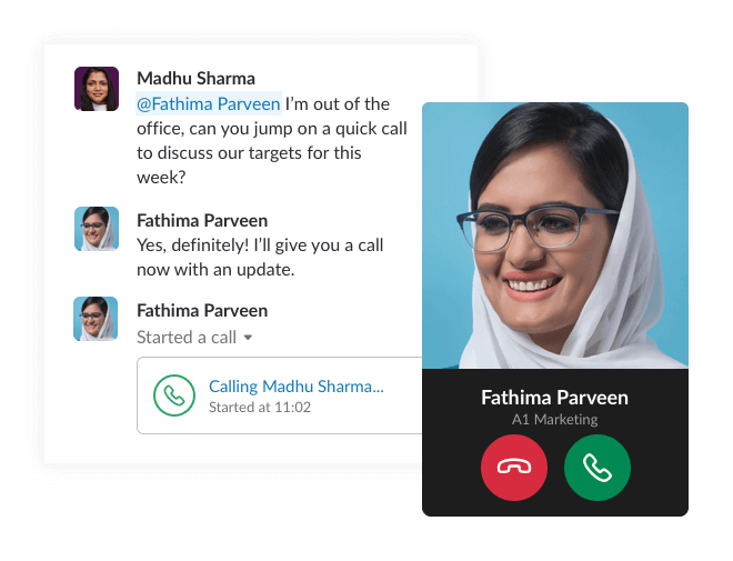 Collaborate from anywhere through Slack App Download