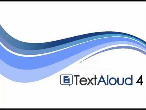 TextAloud software