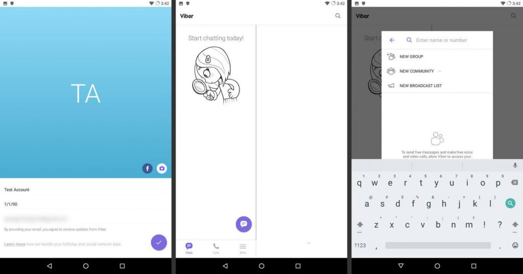 detects your location and area code in Best Video Chat App