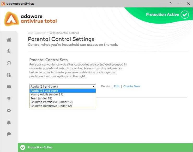 Parental Control For Web Protection