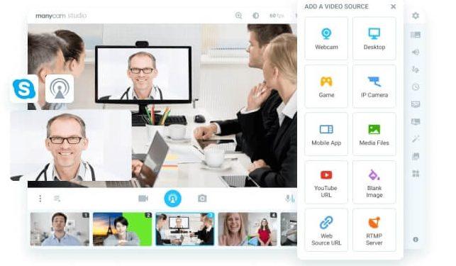 Virtual Webcam For Video Calls