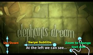subtitle scroll