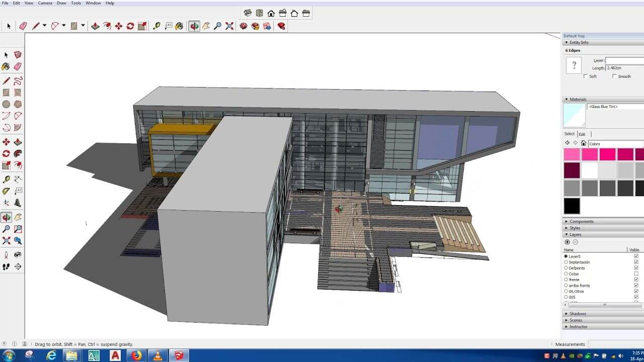 SketchUp Design For 3D Drawing Program