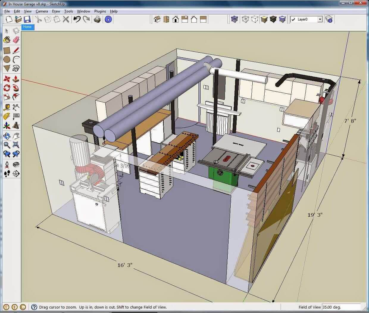 Sketchup 3D Drawing Program For PC