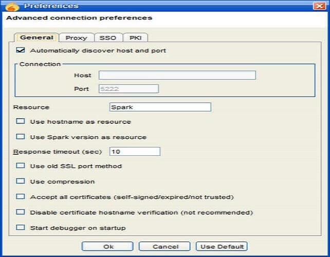instant messaging software