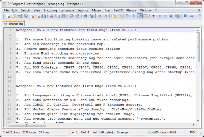 notepad++ Code Editor Software For Windows