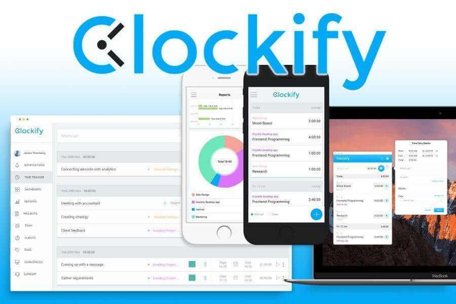 free time tracking app