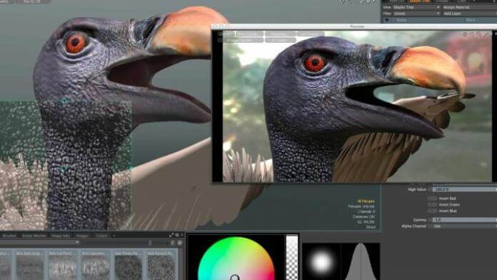 Modo 3D modeling software