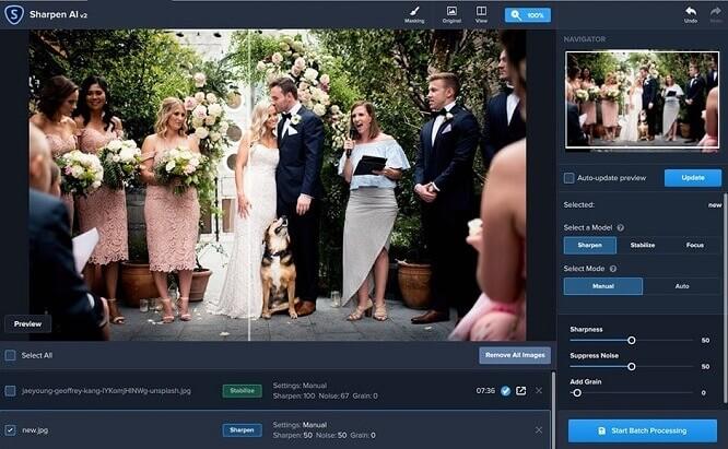 Photo enhancer app