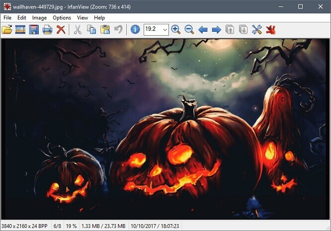 Image viewer for windows
