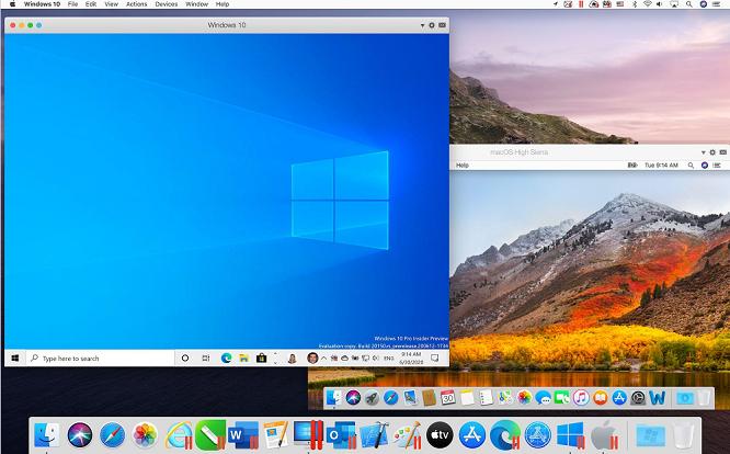 Virtual machine for mac