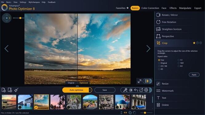 Free image optimizer