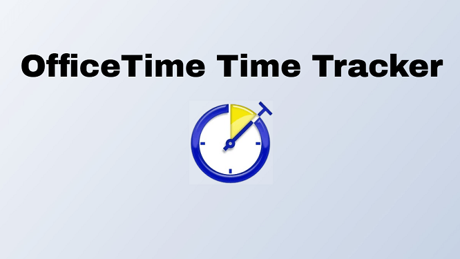 Time tracker for Windows