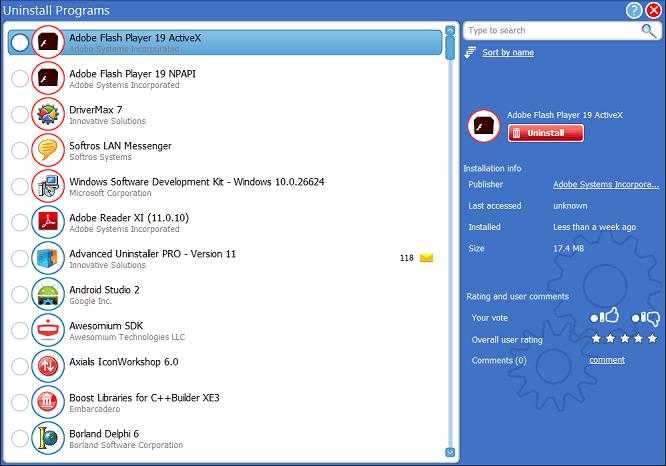 uninstall program from PC