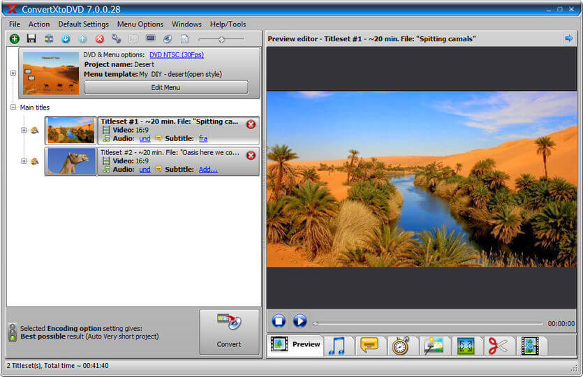ConvertxtoDVD Software To Burn Video Files To DVD