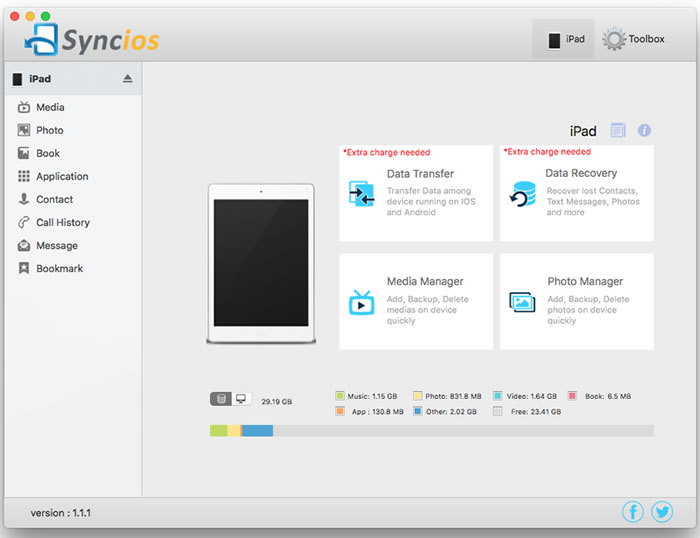 syncios-manager-sync-your-files-on-iPhone-file-transfer-app
