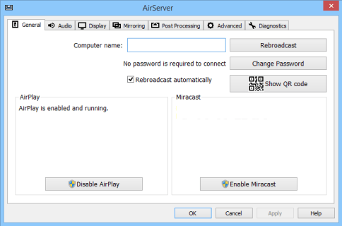 AirServer Screen Mirroring Software For Windows