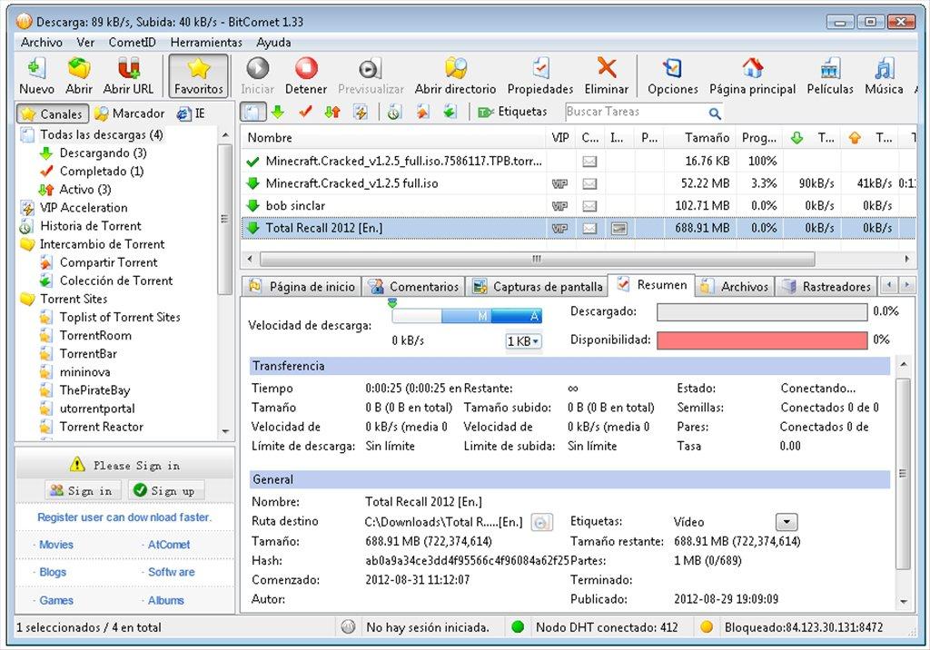 BitComet Software Free Download