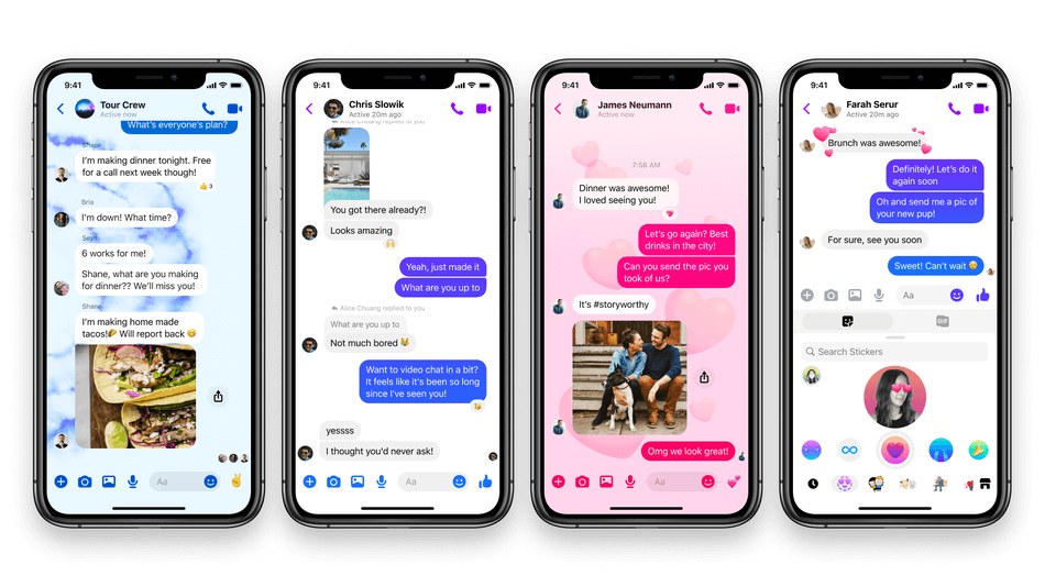 Share Stickers Photos And More Using Facebook Messenger