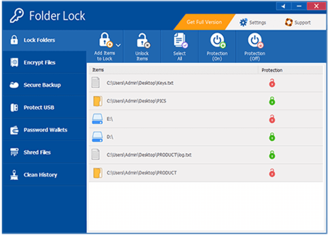 Folder Lock Software For PC